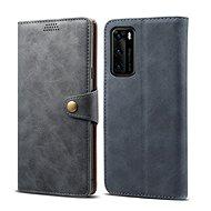 Lenuo Leather pro Huawei P40, šedé - Pouzdro na mobil