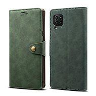 Lenuo Leather pro Huawei P40 Lite, zelené - Pouzdro na mobil