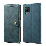 Lenuo Leather pro Huawei P40 Lite, modré - Pouzdro na mobil