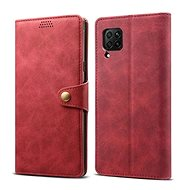 Lenuo Leather pro Huawei P40 Lite, červené - Pouzdro na mobil