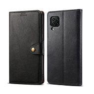Lenuo Leather pro Huawei P40 Lite, černé - Pouzdro na mobil