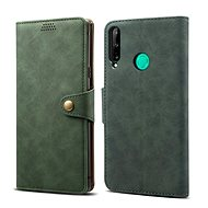 Lenuo Leather pro Huawei P40 Lite E, zelené - Pouzdro na mobil