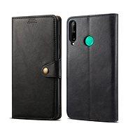 Lenuo Leather pro Huawei P40 Lite E, černé - Pouzdro na mobil
