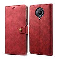Pouzdro na mobil Lenuo Leather pro Xiaomi Poco F2 Pro, červená