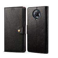 Pouzdro na mobil Lenuo Leather pro Xiaomi Poco F2 Pro, černá