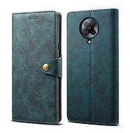 Pouzdro na mobil Lenuo Leather pro Xiaomi Poco F2 Pro, modrá