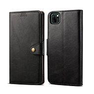 Lenuo Leather pro Huawei Y5p, černá - Pouzdro na mobil