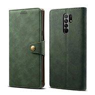 Lenuo Leather pro Xiaomi Redmi 9, zelená