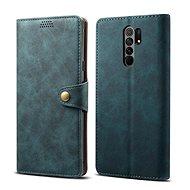 Lenuo Leather pro Xiaomi Redmi 9, modrá