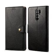Lenuo Leather pro Xiaomi Redmi 9, černá