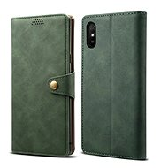 Lenuo Leather for Xiaomi Redmi 9A, Green