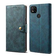 Lenuo Leather pro Xiaomi Redmi 9C, modrá - Pouzdro na mobil