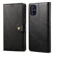 Pouzdro na mobil Lenuo Leather pro Samsung Galaxy M51, černé