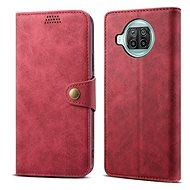 Lenuo Leather pro Xiaomi Mi 10T Lite, červené - Pouzdro na mobil