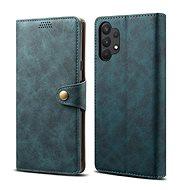 Lenuo Leather pro Samsung Galaxy A32 5G, modré - Pouzdro na mobil