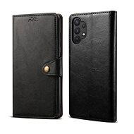 Lenuo Leather pro Samsung Galaxy A32 5G, černé - Pouzdro na mobil