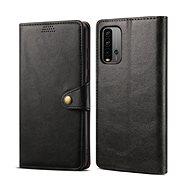 Lenuo Leather pro Xiaomi Redmi 9T, černé - Pouzdro na mobil
