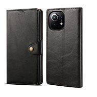 Lenuo Leather pro Xiaomi Mi 11, černé - Pouzdro na mobil