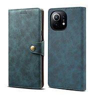 Lenuo Leather pro Xiaomi Mi 11, modré - Pouzdro na mobil