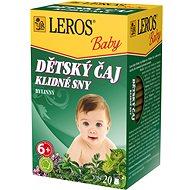 LEROS Baby  Dětský čaj Klidné sny 20x1.5g - Čaj