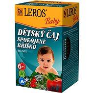 LEROS Baby  Dětský čaj Spokojné bříško 20x2g - Dětský čaj