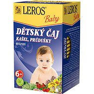 LEROS Baby Children's Tea Cough, Bronchial 20 x 1.5g - Children's Tea