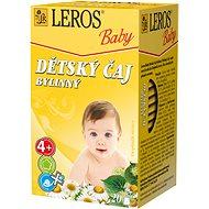 LEROS Baby  Dětský čaj Bylinný 20x1.8g - Dětský čaj