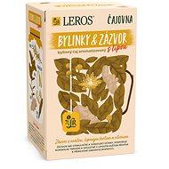 Leros Čajovna Bylinky a Zázvor s lípou  20x2g - Čaj