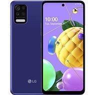LG K52 modrá - Mobilní telefon