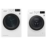 LG F84J6TY0W + LG RC82EU2AV4W - Washer and dryer set