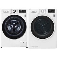 LG F4WV910P2  + LG RC82EU2AV4Q - Washer and dryer set