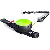 Lishinu Light Lock Neon Hand-Free zelené - Vodítko pro psa