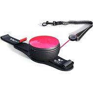 Lishinu Light Lock Neon Hand-Free růžové - Vodítko pro psa