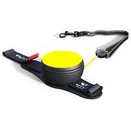 Lishinu Light Lock Neon Hand-Free žluté - Vodítko pro psa