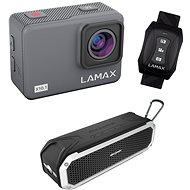 LAMAX X10.1 + AlzaPower RAGE R2 silver - Digital Camcorder