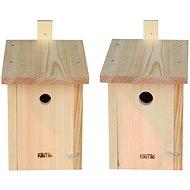 KikiTiki Sada stavebnic ptačích budek - sýkorník 28 mm a 34 mm