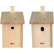KikiTiki Sada stavebnic ptačích budek - sýkorník 28 mm a 30x45 mm - Stavebnice ptačí budky a krmítka