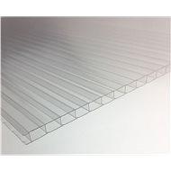 LANITPLAST Komůrkové prosklení PC 4 mm pro LANITPLAST PLUGIN 8x12 stříbrný / zelený  - Skleník