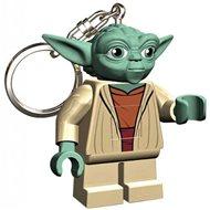Svítící klíčenka LEGO Star Wars - Yoda