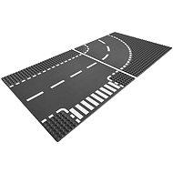 LEGO City 7281 Křižovatka ve tvaru T a zatáčky - Stavebnice