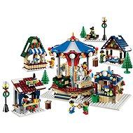 LEGO Creator 10235 Zasněžený vesnický trh - Stavebnice