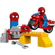 LEGO DUPLO 10607 Spidermanova dílna pro pavučinové kolo - Stavebnice