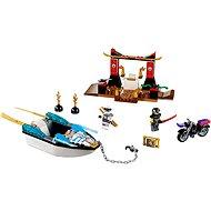 LEGO Juniors 10755 Pronásledování v Zaneově nindža člunu - Stavebnice