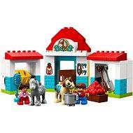 LEGO DUPLO Town 10868 Stáje pro poníka - Stavebnice