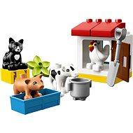 LEGO DUPLO Town 10870 Zvířátka z farmy - Stavebnice