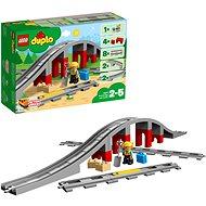 LEGO DUPLO 10872 Doplňky k vláčku – most a koleje - Stavebnice