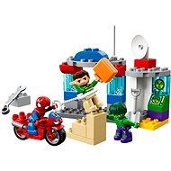 LEGO DUPLO Super Heroes 10876 Dobrodružství Spider-Mana a Hulka - Stavebnice