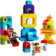 LEGO DUPLO LEGO Movie 2 10895 Emmet, Lucy a návštěvníci z DUPLO planety - Stavebnice