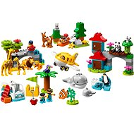 LEGO DUPLO Town 10907 World Animals - LEGO Building Kit