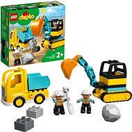 LEGO DUPLO Town 10931 Náklaďák a pásový bagr - LEGO stavebnice